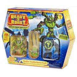 Ready2Robot Zestaw bitewny Double Trouble niespodzianka w kuli z akcesoriami