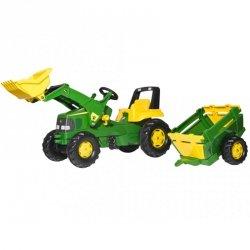 Rolly Toys rollyJunior Traktor Na Pedały John Deere 3-8 Lat