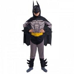 Strój Batman Kostium Człowiek Nietoperz Maska Pas  Peleryna dla dziecka 134-140cm