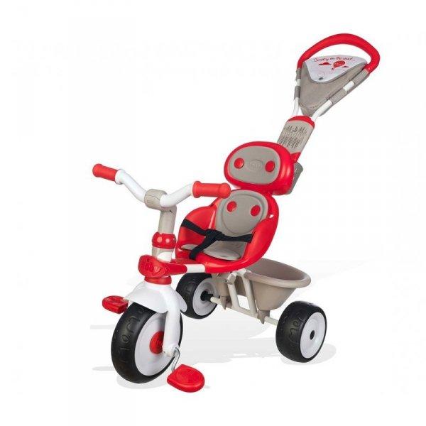 Smoby rowerek Trójkołowy Confort Piankowe Koła Sterowany
