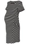 sukienka ciążowa z krótkim rękawem