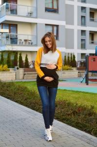 Bluza ciążowa i do karmienia 4447