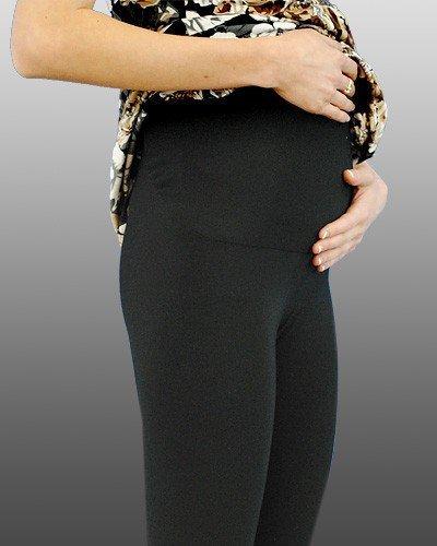 "Legginsy ciążowe długie ""panel plus"" 0258"