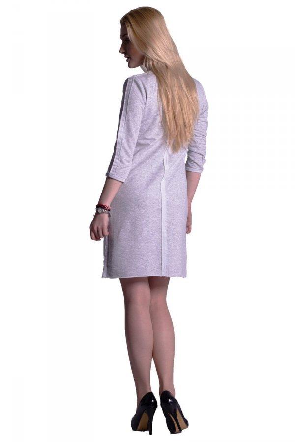 Sukienka dresowa z obniżonymi kieszeniami 1828
