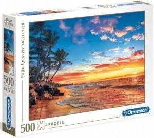 PUZZLE PARADISE BEACH 500 ELEMENTÓW CLEMENTONI