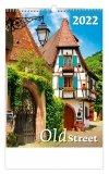 Kalendarz ścienny wieloplanszowy Old Street 2022 - okładka