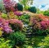 Kalendarz ścienny wieloplanszowy Gardens 2022 z naklejkami - październik 2022