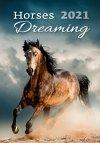 Kalendarz ścienny wieloplanszowy Horses Dreaming 2021 - okładka