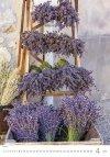 Kalendarz ścienny wieloplanszowy Provence 2021 - kwiecień 2021