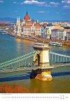 Kalendarz ścienny wieloplanszowy Cities Of Europe 2021 - listopad 2021