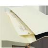 Notes A6 z długopisem zamykany na gumkę z blaszką - papier chamois w kratkę oprawa EKOSKÓRA LINEN granatowa (gumka granatowa) Z NADRUKIEM DLA TATYNotes A5 z długopisem zamykany na gumkę z blaszką - papier chamois w kratkę oprawa EKOSKÓRA LINEN  - KIESZONK