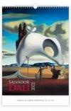 006 Kalendarza ścienny wieloplanszowy SALVADOR DALI 2022 okładka