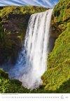 Kalendarz ścienny wieloplanszowy Waterfalls 2021 - czerwiec 2021