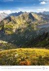 Kalendarz ścienny wieloplanszowy Mountains 2021 - wrzesień 2021