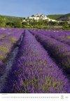 Kalendarz ścienny wieloplanszowy Provence 2021 - sierpień 2021