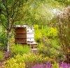 Kalendarz ścienny wieloplanszowy Gardens 2022 z naklejkami - luty 2022