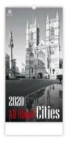 Kalendarz ścienny wieloplanszowy All About Cities 2020 - exclusive edition - okładka