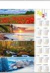 Kalendarz plakatowy B1/04 CZTERY PORY ROKU 2022