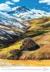 Kalendarz ścienny wieloplanszowy Mountains 2021 - październik 2021