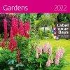 Kalendarz ścienny wieloplanszowy Gardens 2022 z naklejkami - okładka