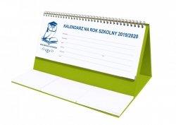 Kalendarz biurkowy EXCLUSIVE na rok szkolny 2019/2020 seledynowy