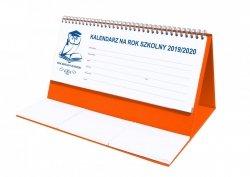 Kalendarz biurkowy EXCLUSIVE na rok szkolny 2019/2020 pomarańczowy