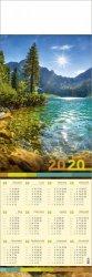 Kalendarz plakatowy 1/2 B1/01 MORSKIE OKO 2020