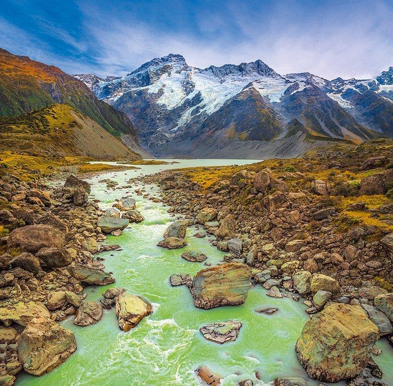 Kalendarz ścienny wieloplanszowy National Parks 2022 z naklejkami - maj 2022