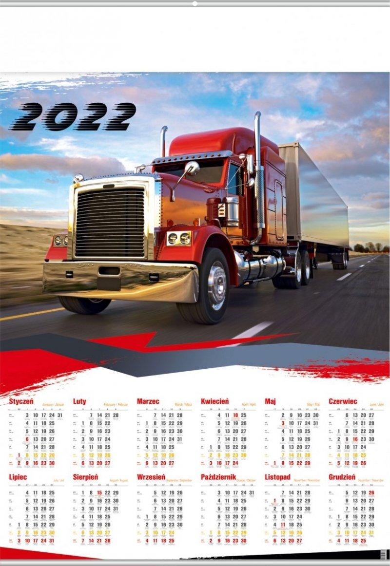 Kalendarz plakatowy B1/13 TRUCK 2022