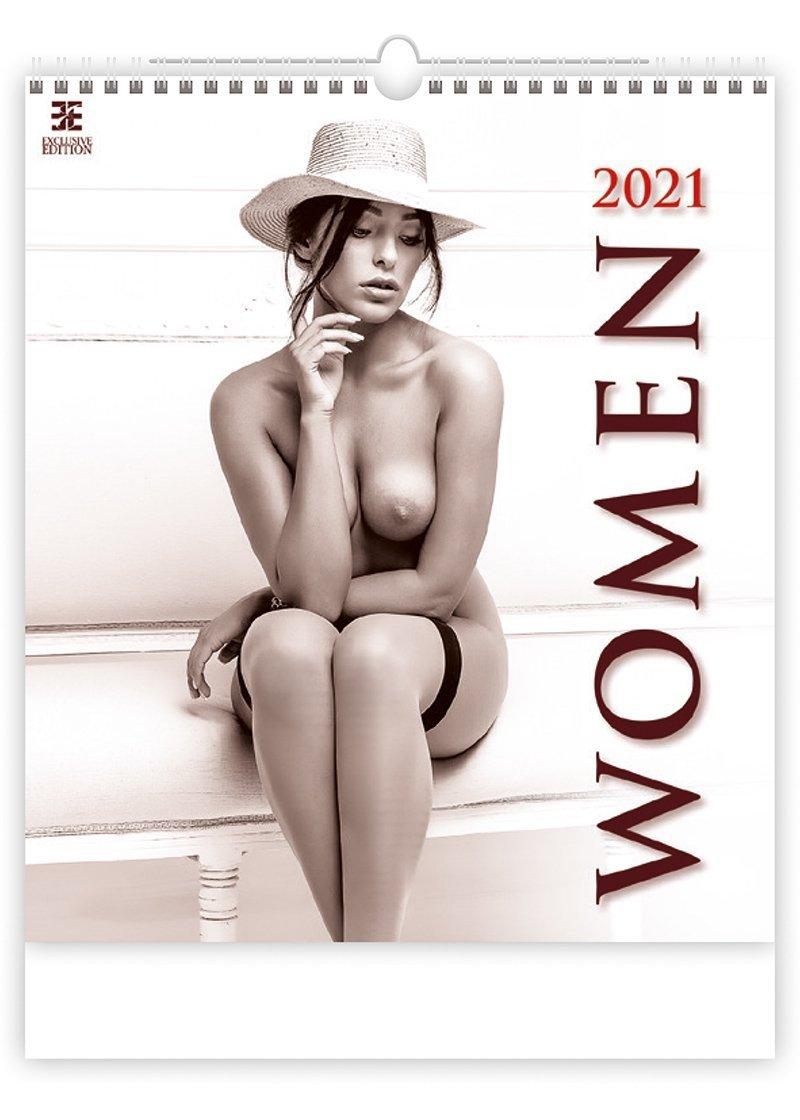 Kalendarz ścienny wieloplanszowy Women 2021 - exclusive edition - okładka