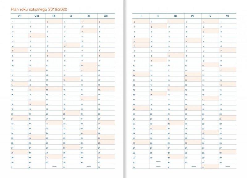 Kalendarz nauczyciela - Plan roku szkolnego 2019/2020