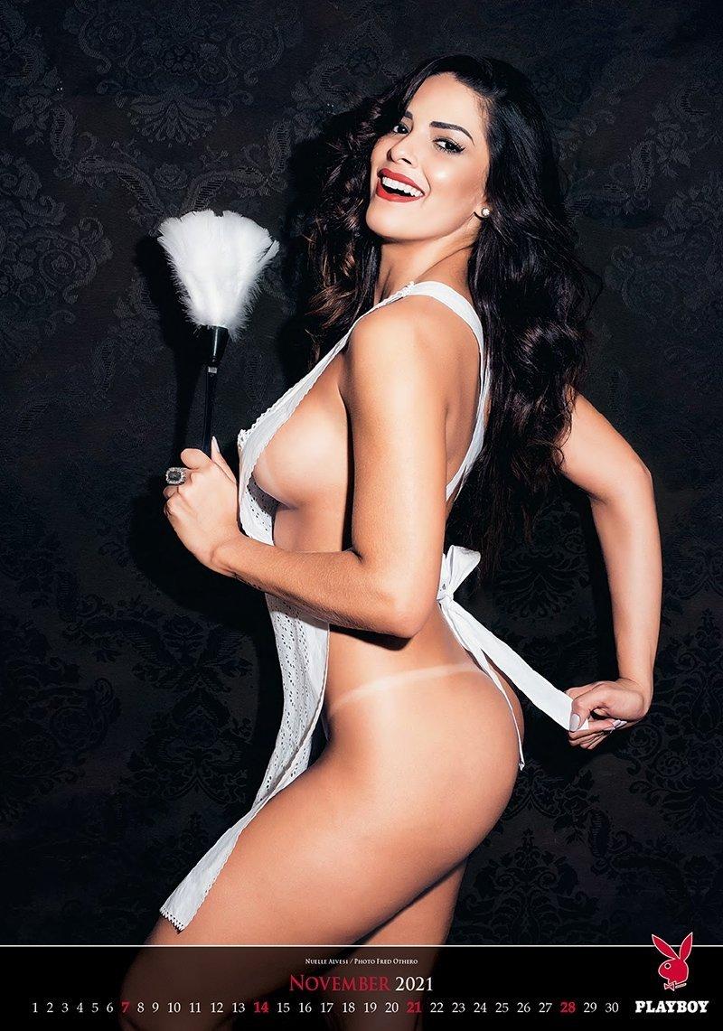 Kalendarz ścienny wieloplanszowy Playboy 2021 - exclusive edition - listopad 2021