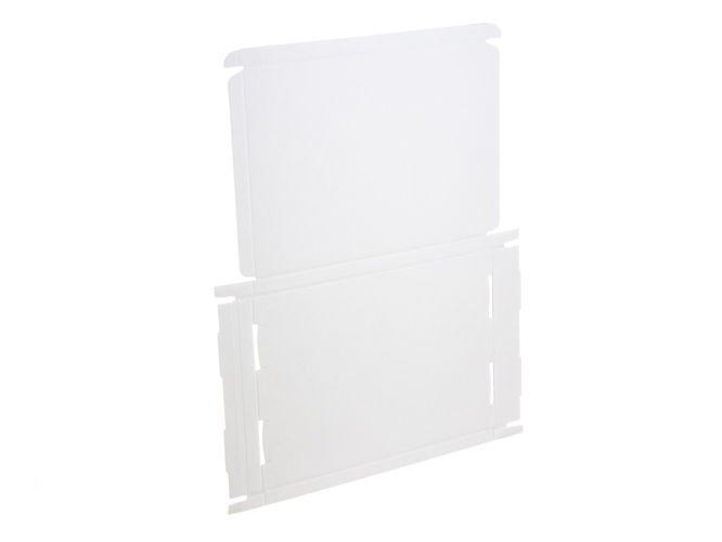 Karton fasonowy biały A4 o wym. 320 x 220 x 20 mm 3-warstwowy fala E 410g 20 SZTUK