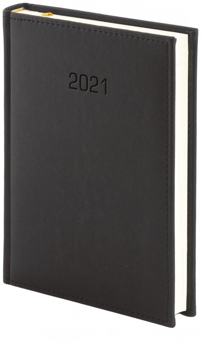 Kalendarz książkowy 2021 A4 dzienny oprawa VIVELLA EXCLUSIVE - czarna