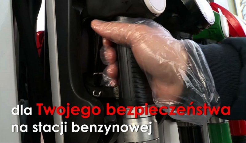 Rękawiczki jednorazowe HDPE na stację benzynową