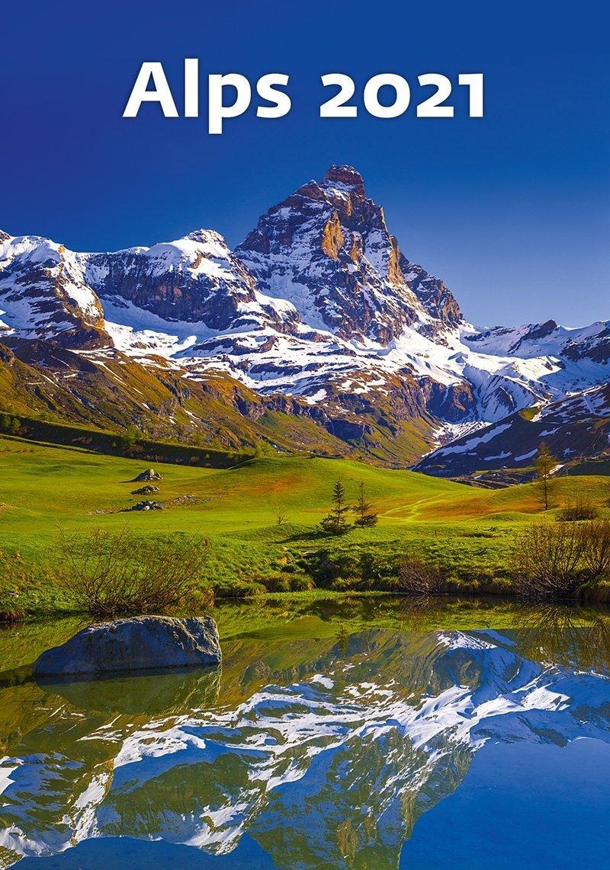 Kalendarz ścienny wieloplanszowy Alps 2021 - okładka