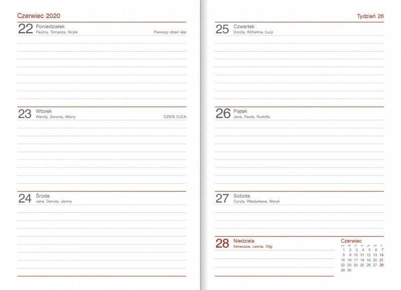 Kalendarz nauczyciela 2019/2020 układ tygodniowy