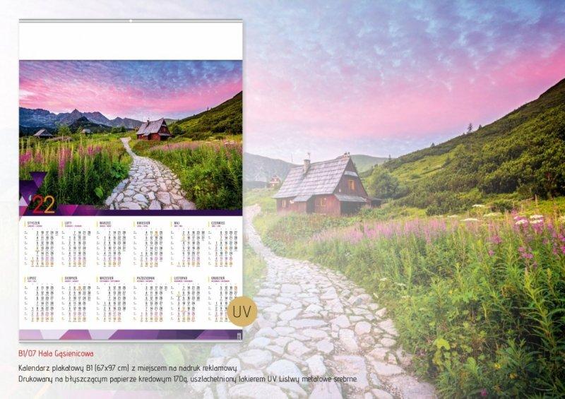 Kalendarz plakatowy B1/07 HALA GĄSIENICOWA 2022