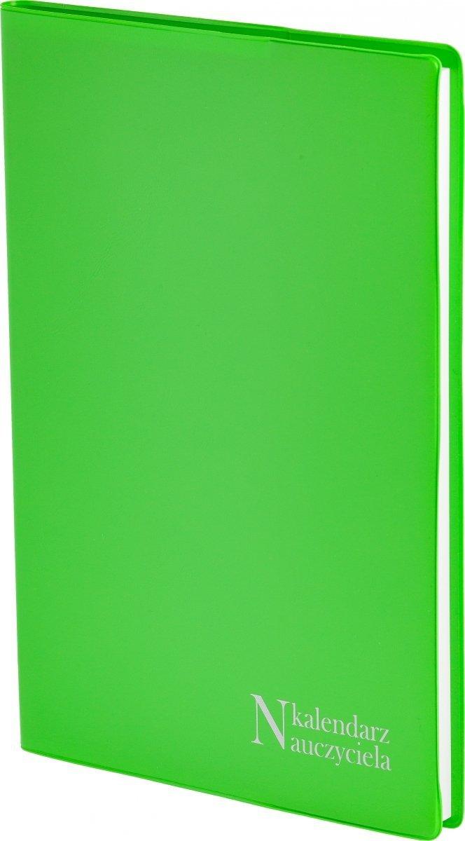 Oprawa kalendarza dla nauczyciela PCV w kolorze seledynowym