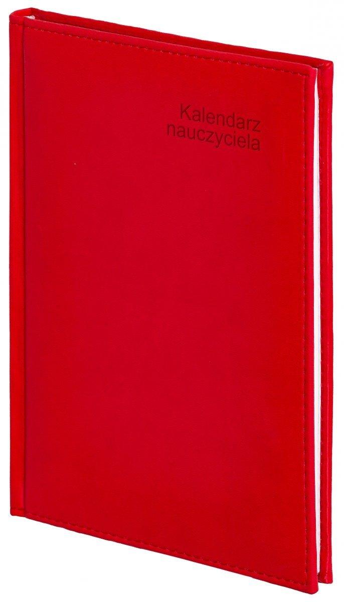 Oprawa kalendarza dla nauczyciela Vivella w kolorze czerwonym