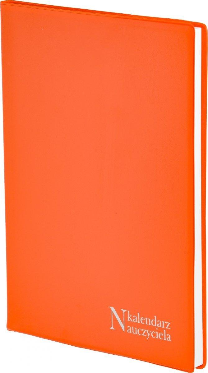 Oprawa kalendarza dla nauczyciela PCV w kolorze pomarańczowym