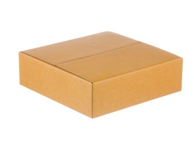 Karton klapowy o wym. 350x350x80 mm  3-warstwowy fala B 380g 100 SZTUK