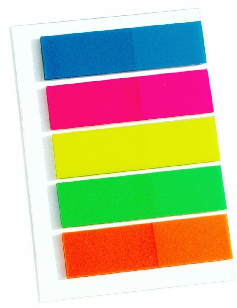 znaczniki samoprzylepne kolorowe