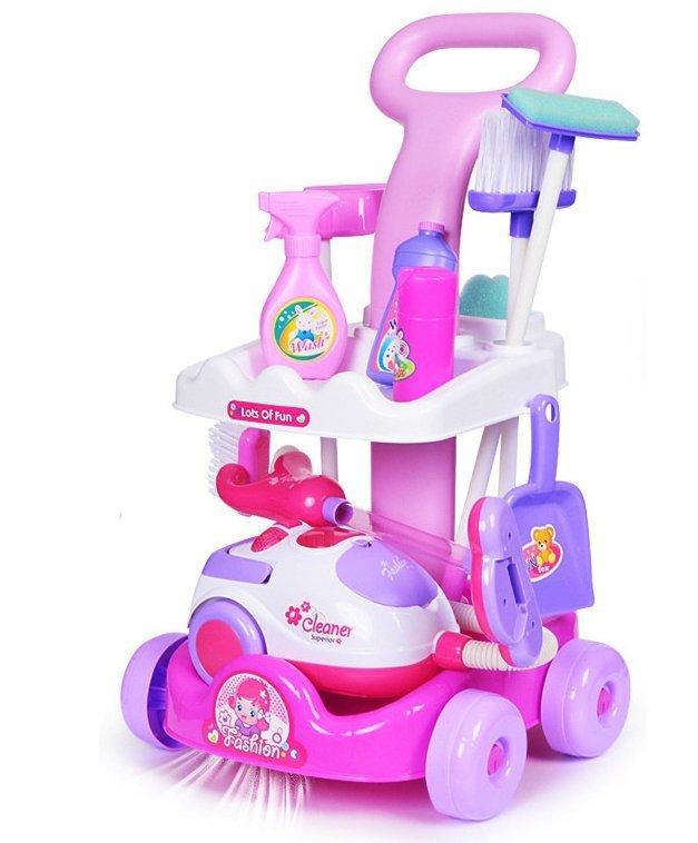 Wózek-do-sprzątania-odkurzacz-+-akcesoria-5-w-1