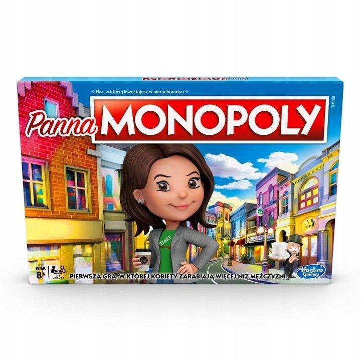 Gra Panna Monopoly Wersja Polska
