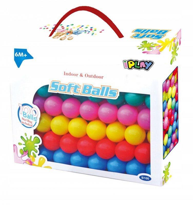Piłki piłeczki kulki basenu namiotu zestaw 100szt