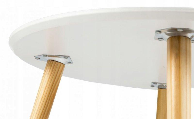 Stolik kawowy nowoczesny skandynawski 60cm