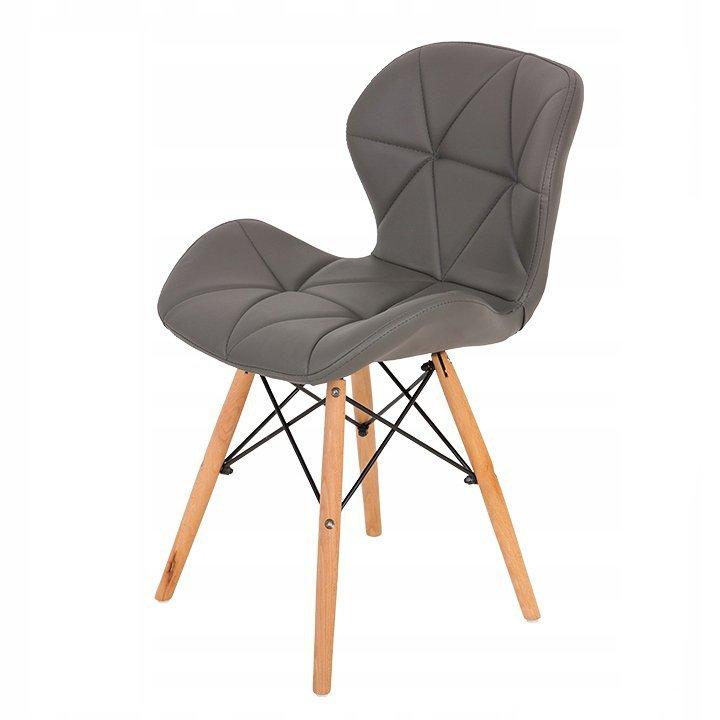 Krzesło krzesła zestaw 4 krzeseł do salonu jadalni ModernHome