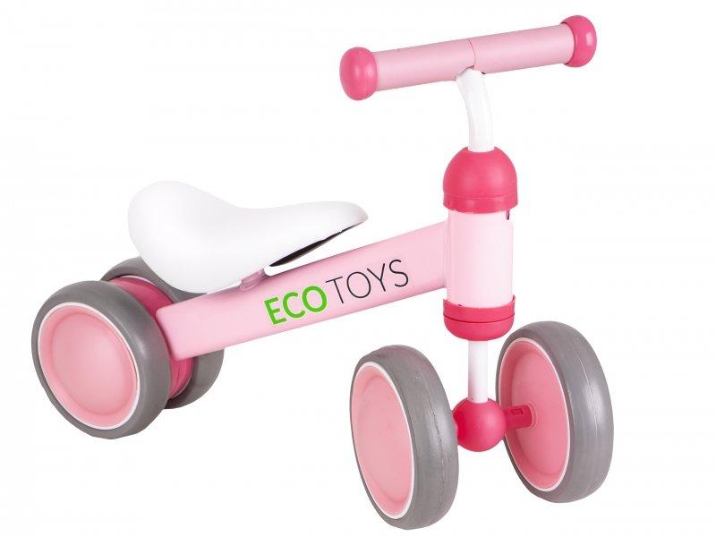 Rowerek biegowy mini rower Practise Pink Ecotoys