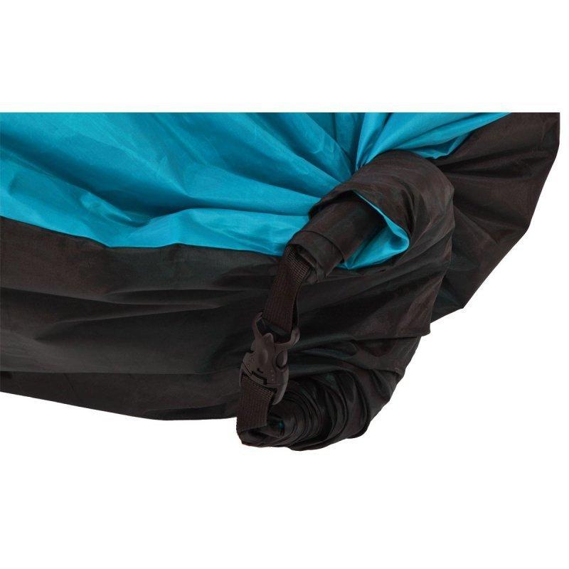 Lazy bag dmuchany leżak niebieski